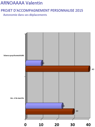 Graphique Evaluation Projet personnalisé